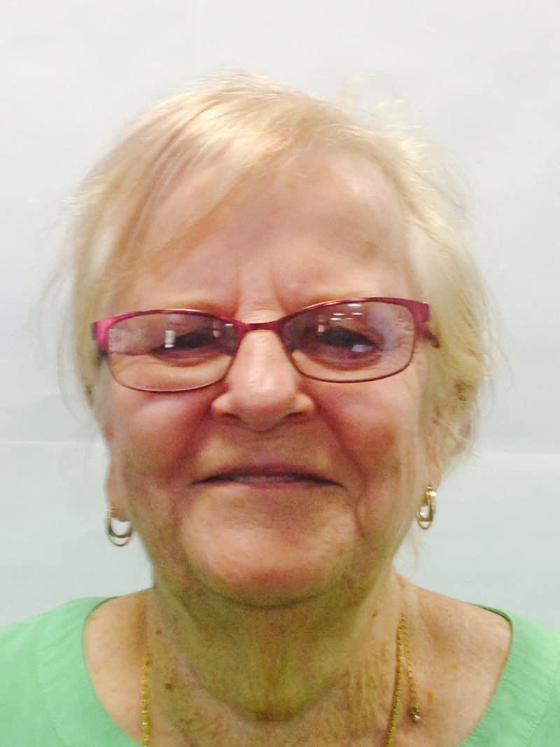 Staff member Marion Cork