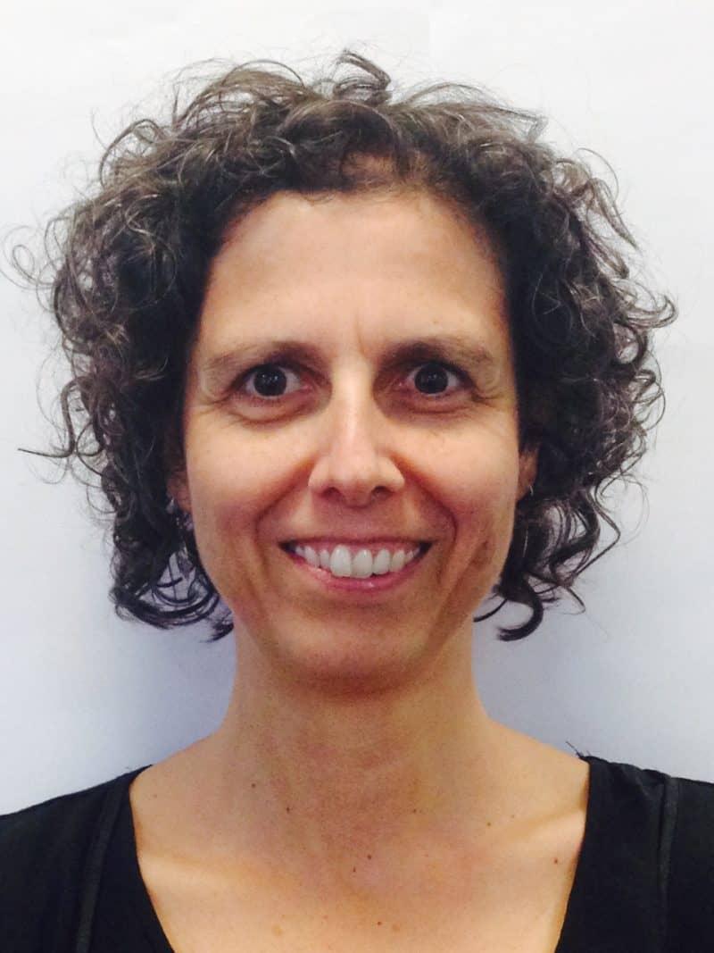 Staff member Natalie Gibbs