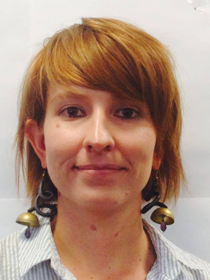 Staff member Amy Southwood