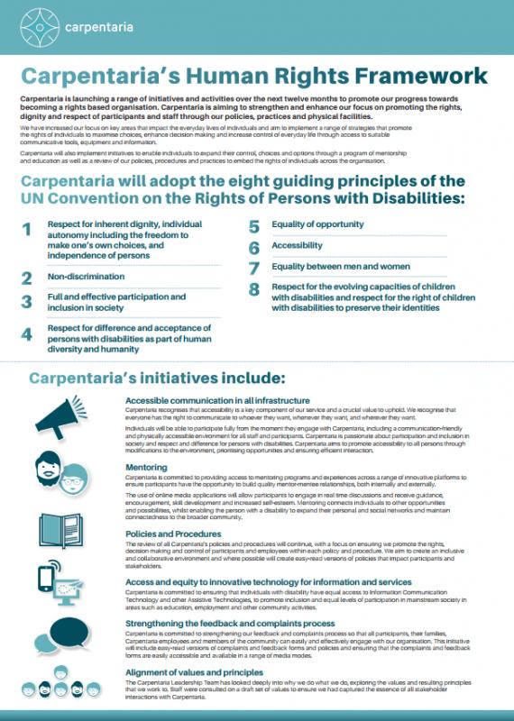 Carpentaria's Human Rights Framework
