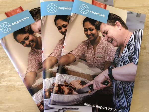 Carpentaria's 2017/18 Annual Report
