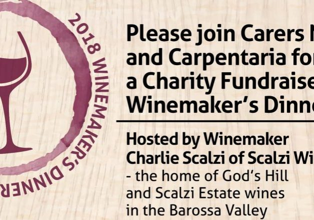 Invitation to 2018 Winemaker's Dinner
