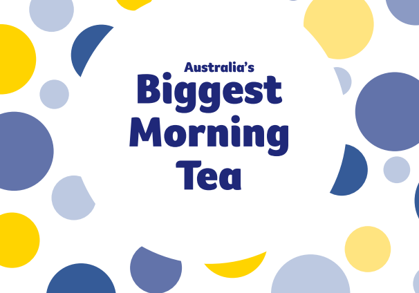 logo biggest morning tea